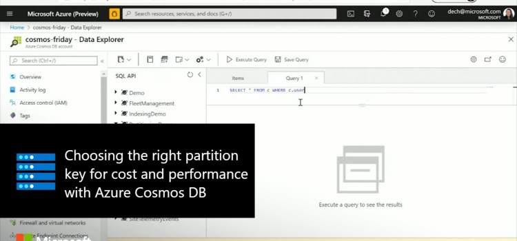 Choosing the Right Partition Key for Cost and Performance with Azure Cosmos DB