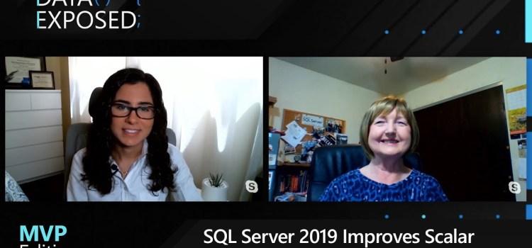 SQL Server 2019 Improves Scalar UDF Performance