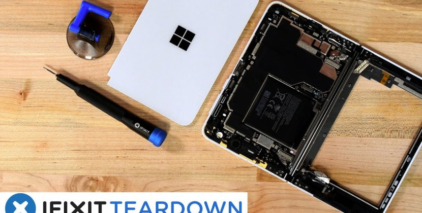 Surface Duo Teardown