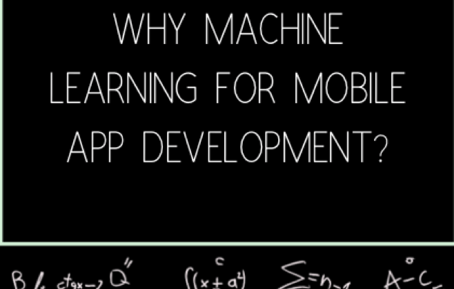 Adding Machine Learning into Mobile Applications