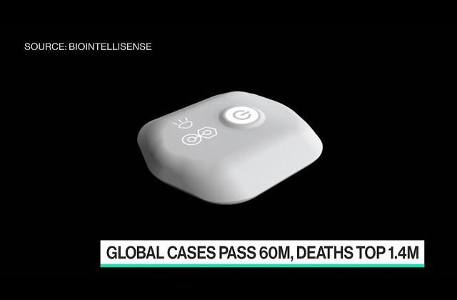 Wearable Tech to Track Covid Symptoms