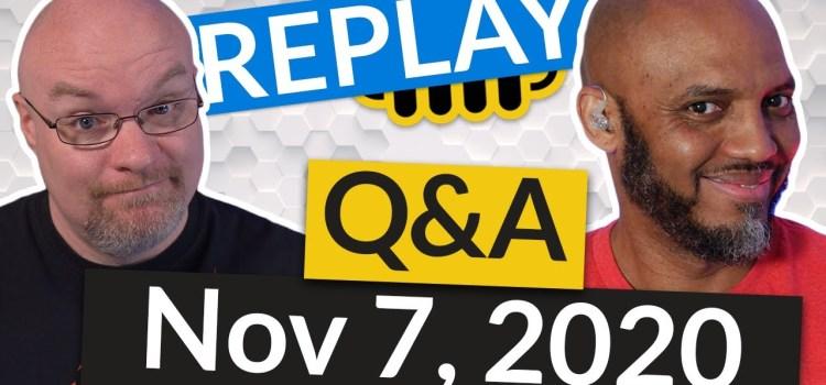 Power BI tips from the Pros Livestream from Nov 7 2020