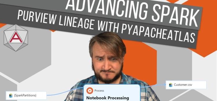 Manual Lineage with the Purview PyApacheAtlas API