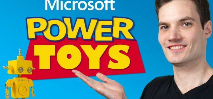 How to use Microsoft PowerToys