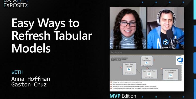 Easy Ways to Refresh Tabular Models