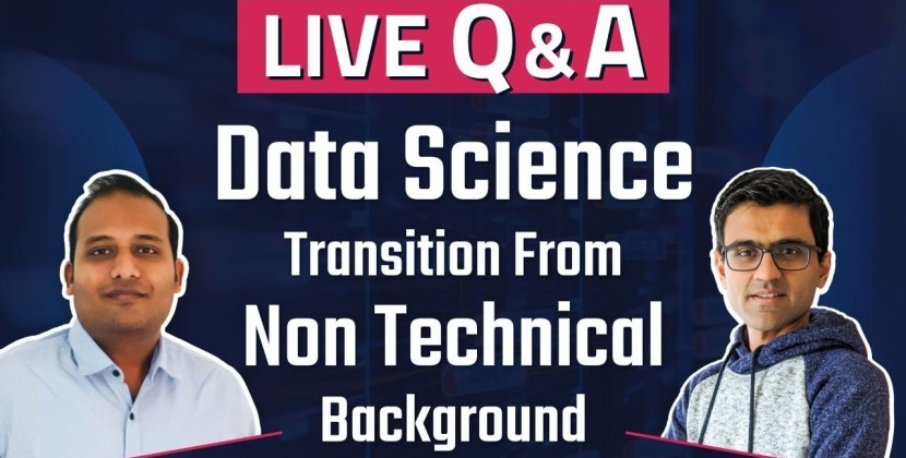 How to Transition to Data Science from a Non Technical Background