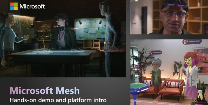 Microsoft Mesh Hands-On Demo