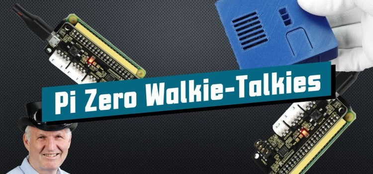 Long-Range Walkie-Talkies using a Raspberry Pi Zero