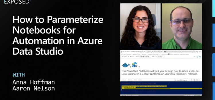 How to Parameterize Notebooks for Automation in Azure Data Studio