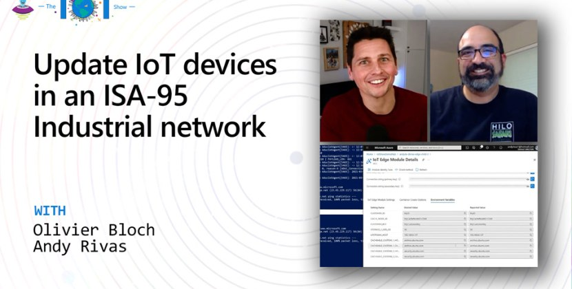How Update IoT Devices on an ISA-95 Industrial Network