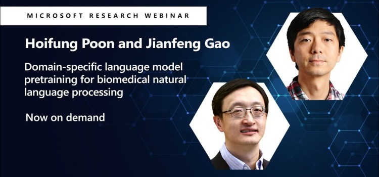 Domain-specific Language Model Pretraining for Biomedical Natural Language Processing