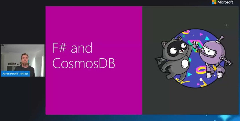 Blowing your mind with F# in CosmosDB