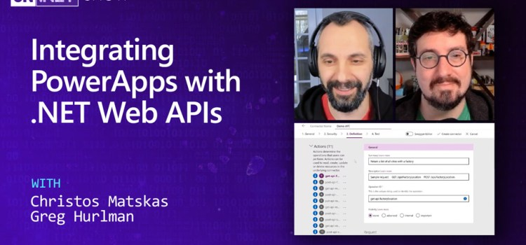 Integrating PowerApps with .NET Web APIs