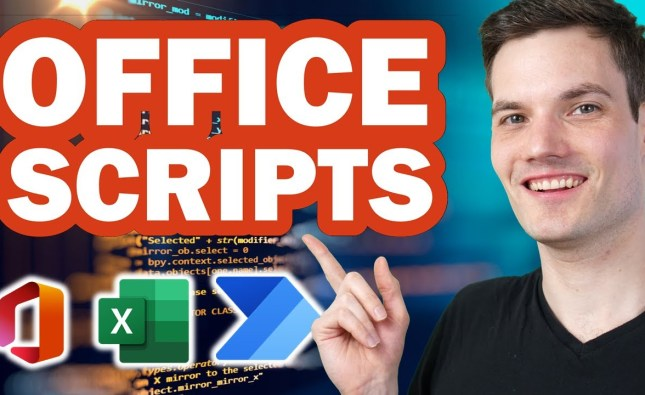How to use Office Scripts in Excel & Power Automate