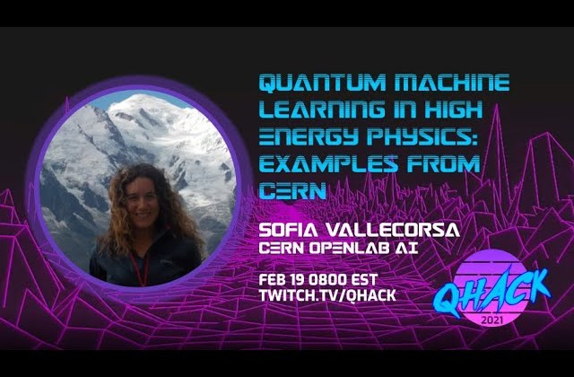 Quantum Machine Learning in High Energy Physics