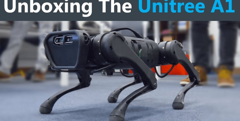 Unboxing a Low-Cost Robot Dog!
