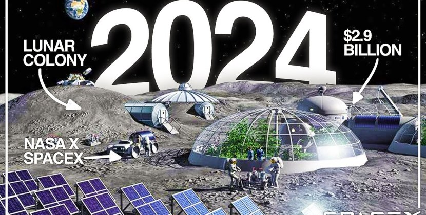How Will SpaceX and NASA Colonize The Moon?