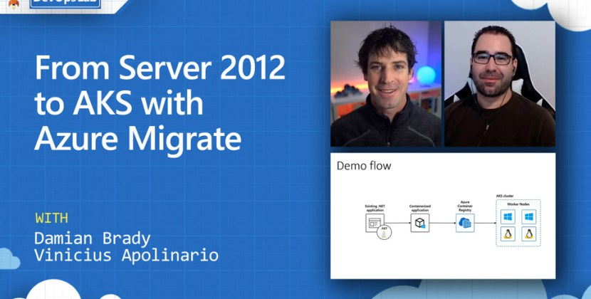 From Server 2012 to AKS with Azure Migrate