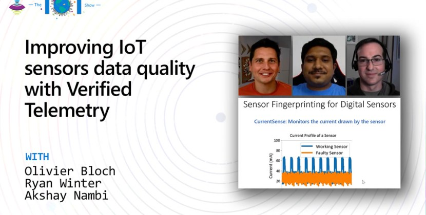 Improving IoT sensors data quality with Verified Telemetry