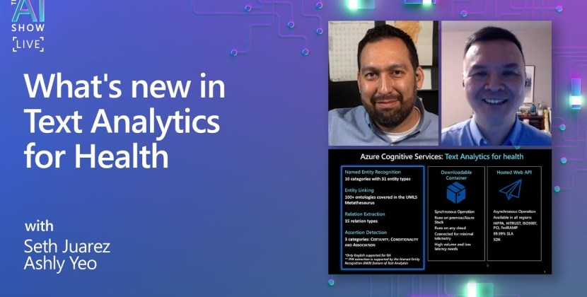 What's new in Text Analytics for Health?