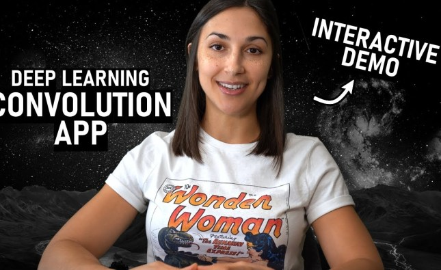 Convolutions in Deep Learning – Interactive Demo App