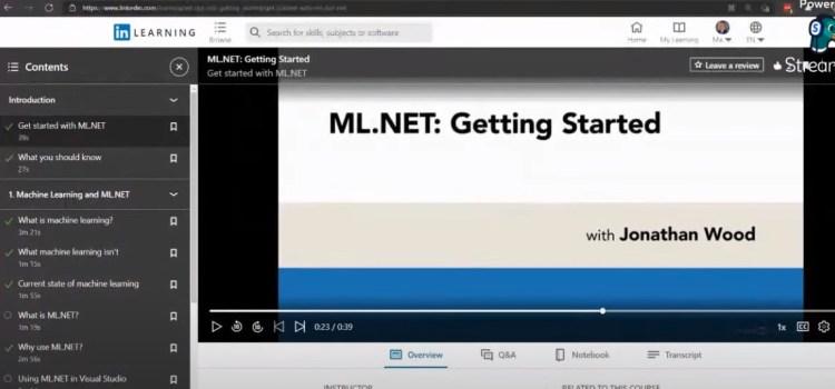 Jon Wood Announces New ML.NET Course