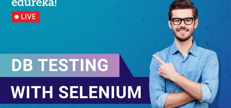 DB Testing with Selenium