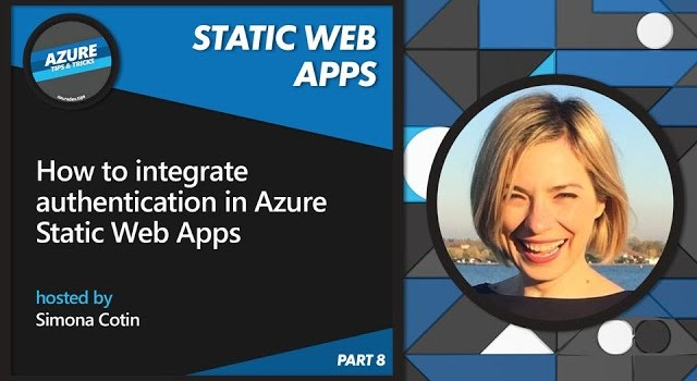 How to Integrate Authentication in Azure Static Web Apps