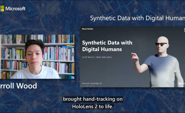 Synthetic Data with Digital Humans