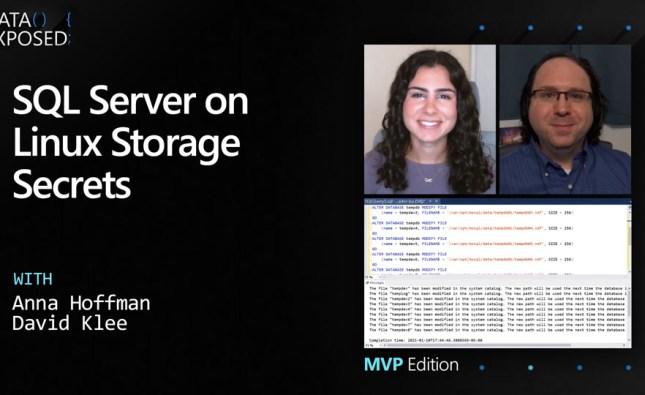SQL Server on Linux Storage Secrets