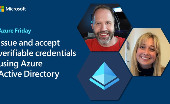 Issue and accept verifiable credentials using Azure Active Directory