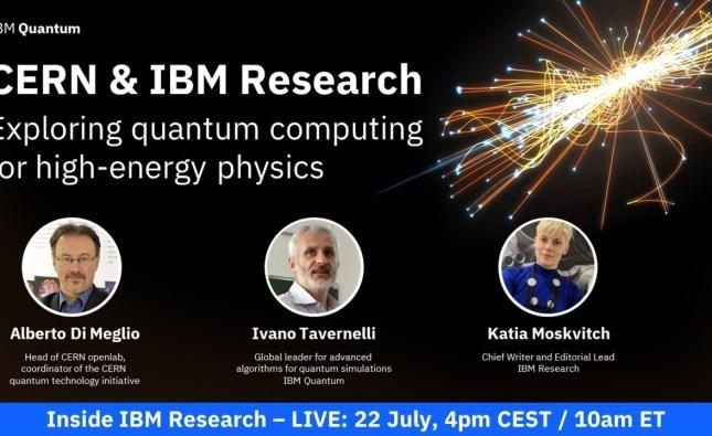 Exploring Quantum Computing for High-Energy Physics