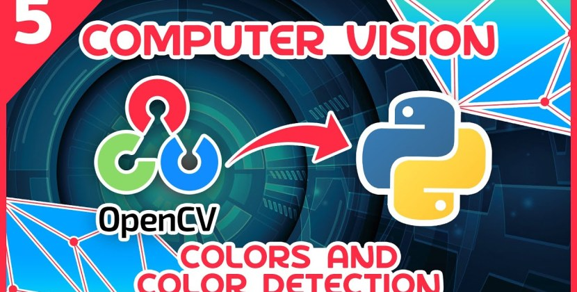 OpenCV Python Tutorial #5 – Colors and Color Detection