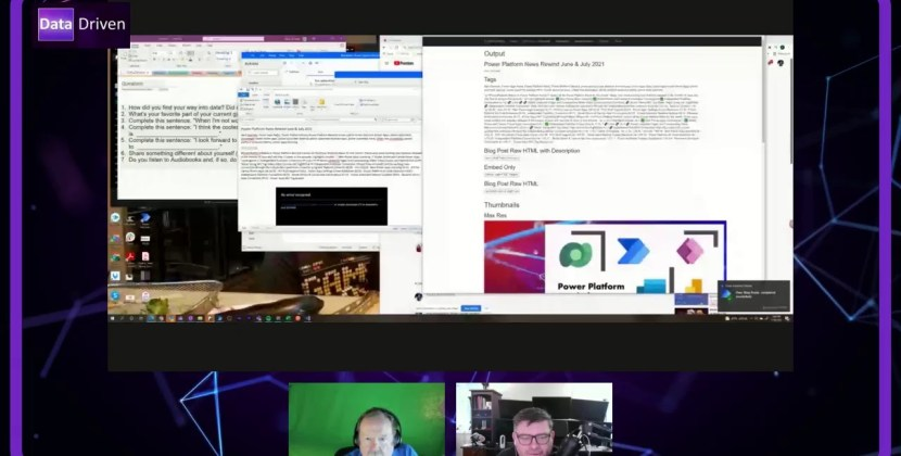 New Video Upload : PowerApps, Podcasting, and Programming Calendar Solution