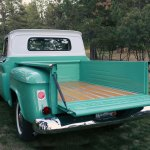 1965 Chevy C10 Stepside Wood Truck Bed Restoration Franktown Collision And Restoration Garage
