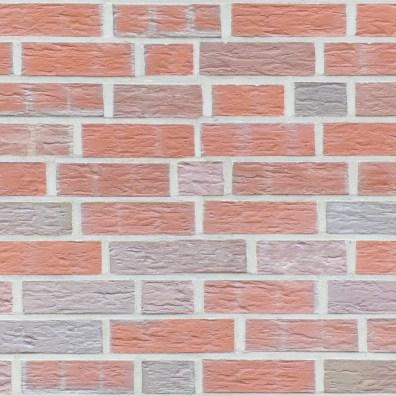 Furrowed brick