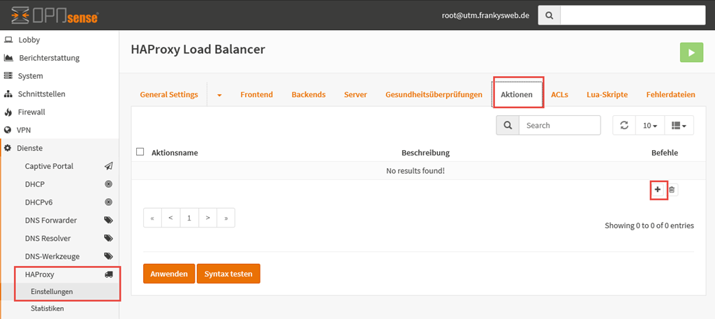 Exchange 2016: OPNsense, HAProxy und Let\'s Encrypt - Exchange User ...