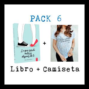 Pack 6: Camiseta + Lo que escribí antes y después de ti