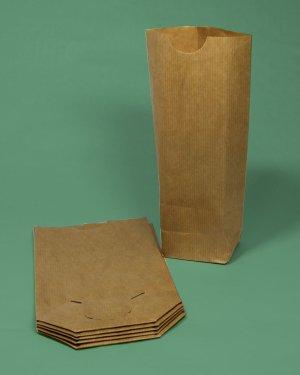 sacs papier écornés brun pharmacie