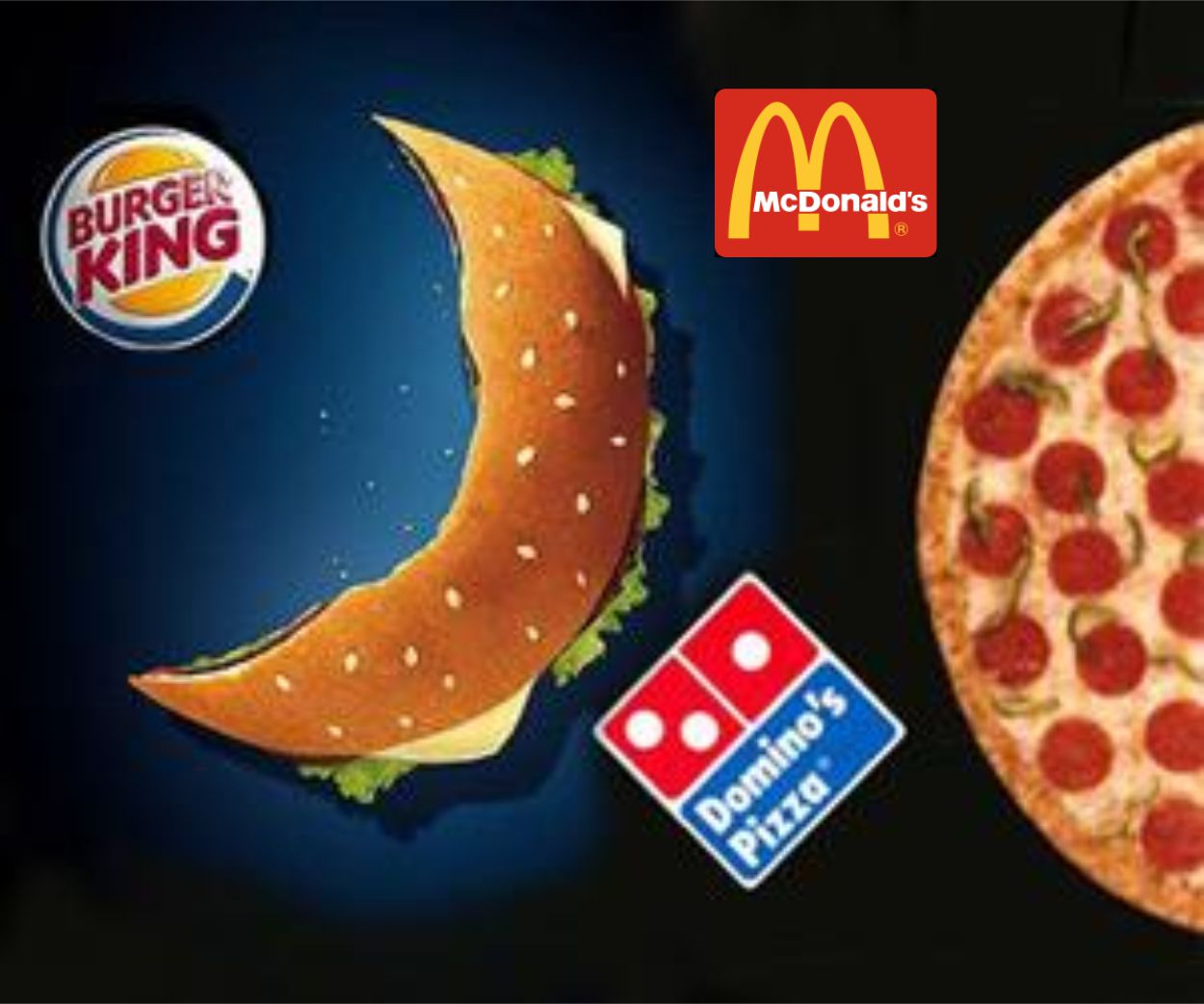 Resultado de imagen de grandes cadenas de comida rapida