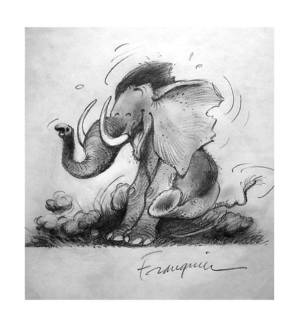 Léléphant Franquin