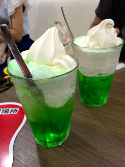 Melon Cream soda Japan