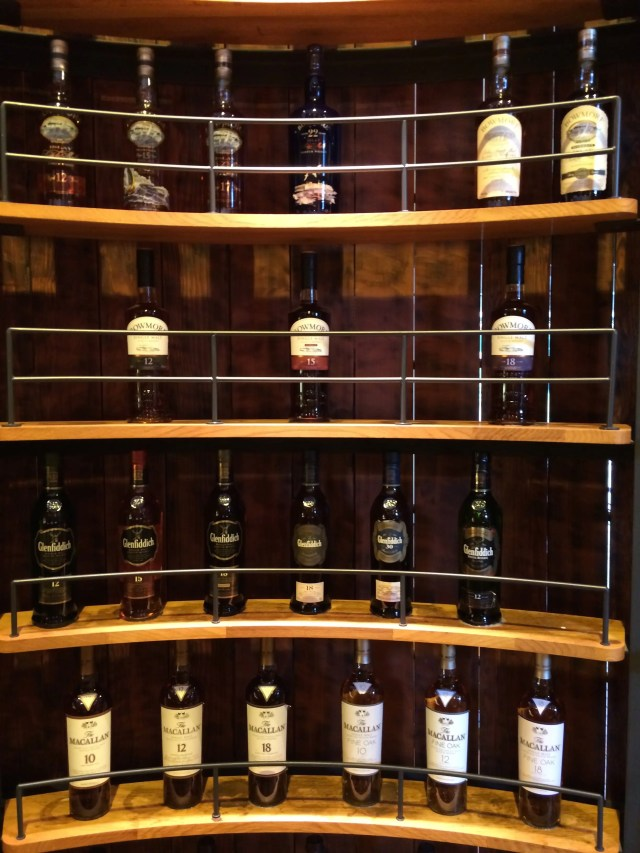 Whiskys in Suntory Yamazaki Distillery Japan