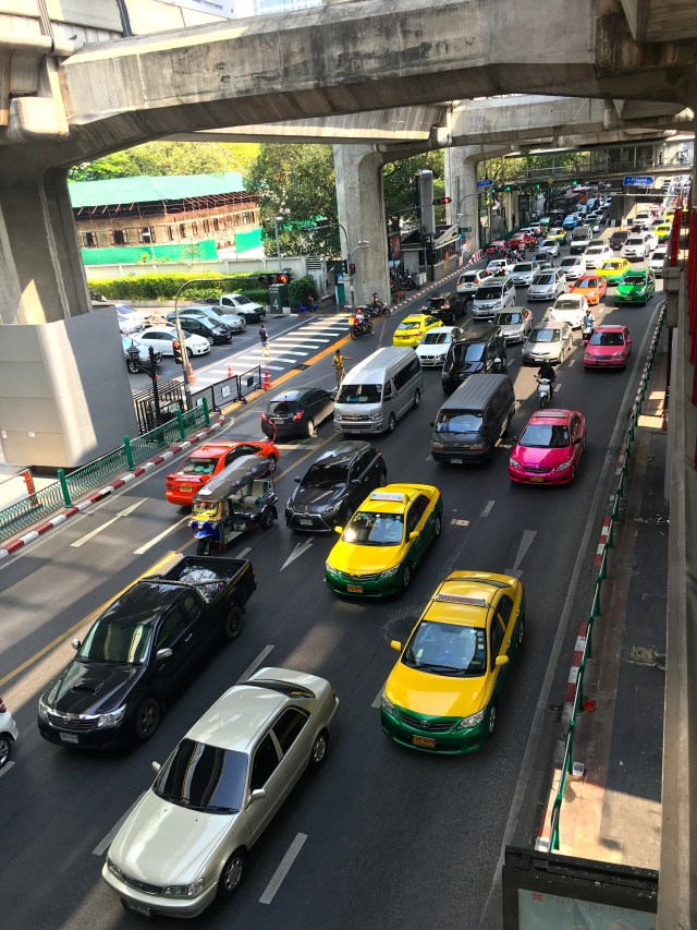 Sukhumvit Road in Bangkok