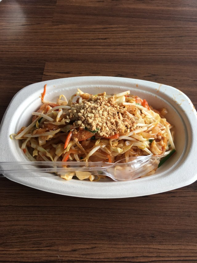 Pad Thai from a food stall 200 THB
