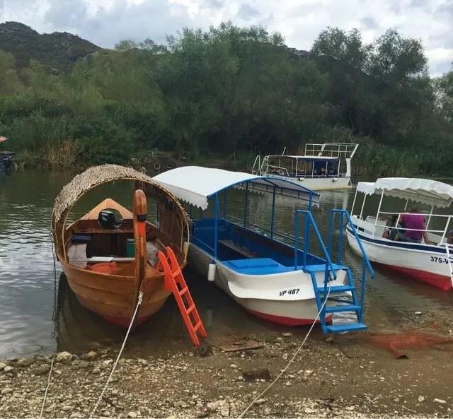 Many boat tours