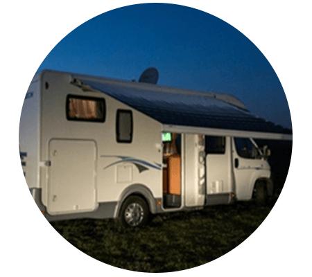 Profiter de la télé par satellite en camping-car