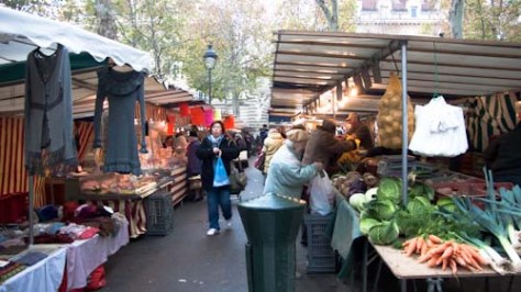 Markt op Place Monge