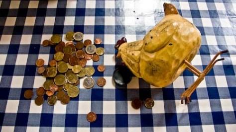 Geld tellen