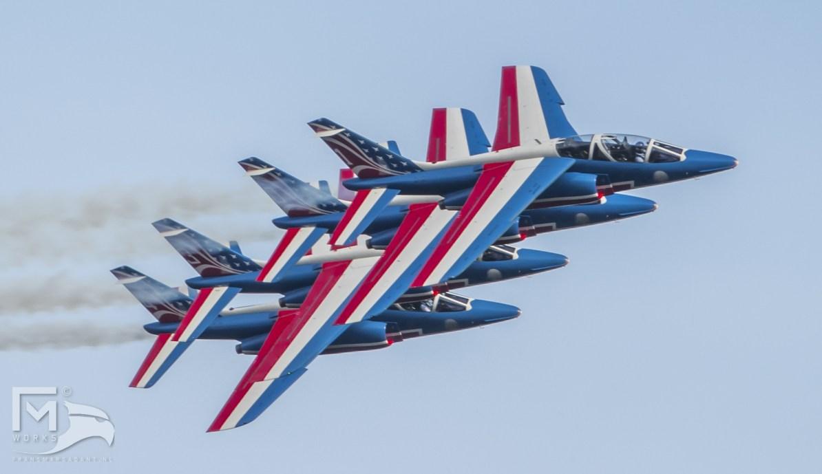 Patrouille de France Airshow Legend